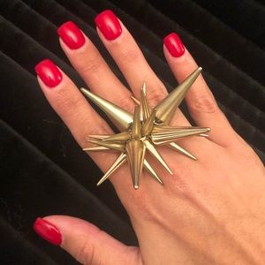 Spiked Topshop Ring